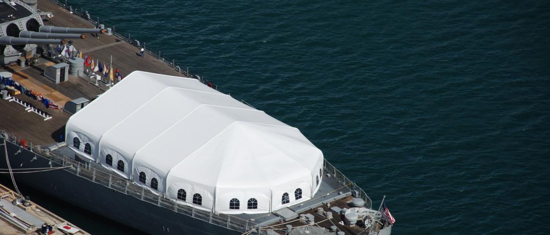 Event Tent USS Missouri