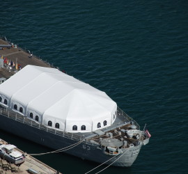 Event Tent USS Missouri
